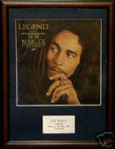BOD MARLEY - LEGEND - Framed LP Cover